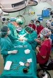 Εναέρια όψη της λειτουργίας χειρουργικών επεμβάσεων Στοκ εικόνα με δικαίωμα ελεύθερης χρήσης