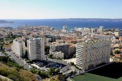 εναέρια όψη της Μασσαλίας Στοκ εικόνα με δικαίωμα ελεύθερης χρήσης