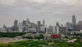 Εναέρια όψη της Μπανγκόκ, Ταϊλάνδη Στοκ φωτογραφία με δικαίωμα ελεύθερης χρήσης