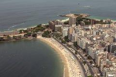 Εναέρια όψη της παραλίας Copacabana Στοκ Φωτογραφία