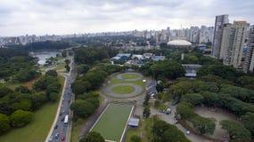 Εναέρια όψη της πόλης του Σάο Πάολο Στοκ φωτογραφία με δικαίωμα ελεύθερης χρήσης