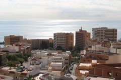 Εναέρια όψη της πόλης στοκ εικόνα με δικαίωμα ελεύθερης χρήσης