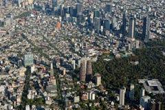 Εναέρια όψη της Πόλης του Μεξικού Στοκ εικόνες με δικαίωμα ελεύθερης χρήσης