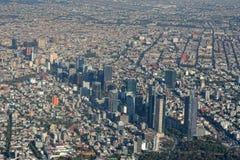 Εναέρια όψη της Πόλης του Μεξικού Στοκ Φωτογραφία