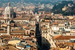 εναέρια όψη της Ρώμης Στοκ Εικόνα