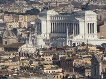 εναέρια όψη της Ρώμης Στοκ Εικόνες