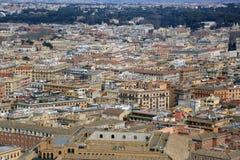 εναέρια όψη της Ρώμης Στοκ φωτογραφίες με δικαίωμα ελεύθερης χρήσης