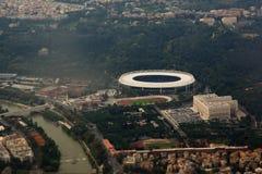 εναέρια όψη της Ρώμης Στοκ φωτογραφία με δικαίωμα ελεύθερης χρήσης