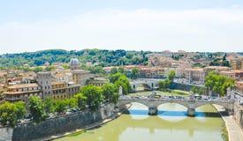 εναέρια όψη της Ρώμης Στοκ Φωτογραφίες
