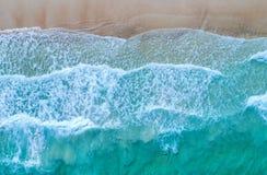 εναέρια όψη Τοπ όψη Καταπληκτικό υπόβαθρο φύσης Το χρώμα Στοκ Φωτογραφίες