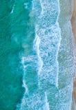 εναέρια όψη Τοπ όψη Καταπληκτικό υπόβαθρο φύσης Το χρώμα Στοκ Εικόνα