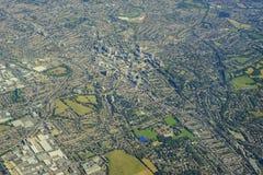 εναέρια όψη του Λονδίνου Στοκ Εικόνα