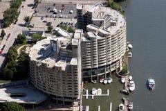 εναέρια όψη του Σικάγου Στοκ Φωτογραφία