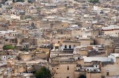 Εναέρια όψη του τετάρτου Fes EL-Μπαλί σε Fes, Μαρόκο Στοκ φωτογραφία με δικαίωμα ελεύθερης χρήσης