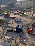 εναέρια όψη buildingplace Στοκ φωτογραφία με δικαίωμα ελεύθερης χρήσης