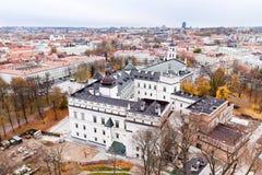 Εναέρια όψη Vilnius Στοκ εικόνα με δικαίωμα ελεύθερης χρήσης