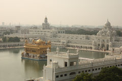 εναέρια amritsar χρυσή όψη ναών στοκ φωτογραφία με δικαίωμα ελεύθερης χρήσης