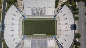 Εναέριες απόψεις του σταδίου LaVell Edwards στην πανεπιστημιούπολη Bringham στοκ φωτογραφίες με δικαίωμα ελεύθερης χρήσης