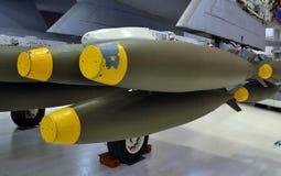 Εναέριες βόμβες Στοκ φωτογραφία με δικαίωμα ελεύθερης χρήσης