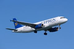Εναέριοι διάδρομοι της Κύπρου στοκ εικόνες με δικαίωμα ελεύθερης χρήσης