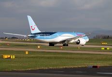 Εναέριοι διάδρομοι Boeing 787 Thomson Dreamliner Στοκ Εικόνες