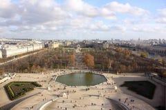 Εναέριοι πυροβολισμοί του Παρισιού Στοκ Φωτογραφίες