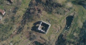 Εναέριος πυροβολισμός: Καταστροφές του αρχαίου κάστρου των ιπποτών Templar φιλμ μικρού μήκους