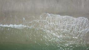 Εναέριος συνδετήρας άποψης θάλασσας Τοπ άποψη, καταπληκτικό υπόβαθρο φύσης φιλμ μικρού μήκους