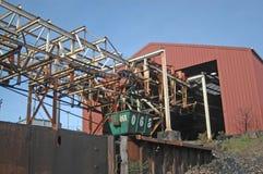 Εναέριος ropeway κάδος Στοκ Εικόνα