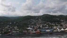 Εναέριο βίντεο Λα Libertad Ελ Σαλβαδόρ απόθεμα βίντεο