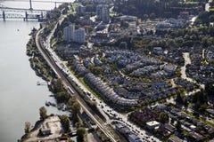 εναέριο νέο Γουέστμινστε Στοκ φωτογραφία με δικαίωμα ελεύθερης χρήσης