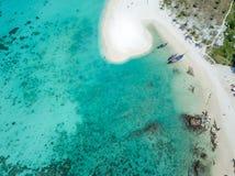 Εναέριο νησί Ko Lipe άποψης στοκ φωτογραφίες