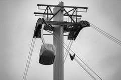 Εναέριο τραμ AirTram του Πόρτλαντ στοκ φωτογραφία με δικαίωμα ελεύθερης χρήσης