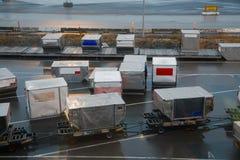 Εναέριο φορτίο Στοκ φωτογραφία με δικαίωμα ελεύθερης χρήσης