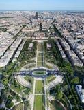 εναέριο champ de ecole χαλά militaire την όψη στοκ φωτογραφίες με δικαίωμα ελεύθερης χρήσης