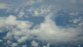 Εναέριο cloudscape απόθεμα βίντεο
