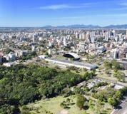 Εναέριο curitiba Βραζιλία άποψης στοκ εικόνες