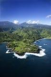εναέριο Maui στοκ φωτογραφία