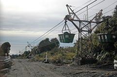 Εναέριο ropeway Στοκ φωτογραφία με δικαίωμα ελεύθερης χρήσης