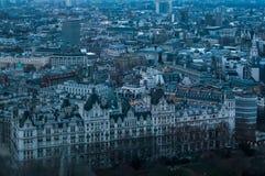 Εναέριο viev του Λονδίνου Στοκ φωτογραφία με δικαίωμα ελεύθερης χρήσης