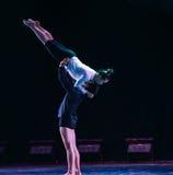 Εναγκαλισμός του αγάπη-σύγχρονου χορού Στοκ Φωτογραφία