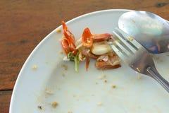 Εναπομείναντας ταϊλανδικά τρόφιμα Στοκ Φωτογραφίες