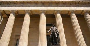 εναρκτήριος όρκος George που παίρνει την Ουάσιγκτον στοκ εικόνες με δικαίωμα ελεύθερης χρήσης