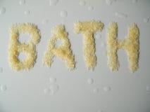 εναλλακτική ιατρική salt spa θεραπεία λουτρών helthcare Στοκ Εικόνες