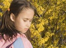 ενδιαφερόμενο κορίτσι Στοκ Εικόνες