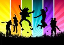ενεργές νεολαίες ανθρώπ&o απεικόνιση αποθεμάτων
