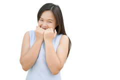 ενεργές όμορφες ικανότητας κοριτσιών κοριτσιών ευτυχείς απομονωμένες ανθρώπων προσώπων όμορφες νεολαίες γυναικών γυναικών εφήβων  Στοκ Φωτογραφία