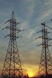 Ενεργειακές γραμμές Στοκ Εικόνα