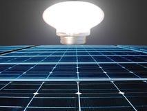 ενεργειακή επιτροπή ηλι&a Στοκ Εικόνα