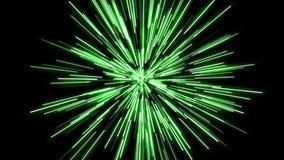 Ενεργειακή ζωτικότητα κινούμενων σχεδίων στα διαφορετικά χρώματα 4K ελεύθερη απεικόνιση δικαιώματος